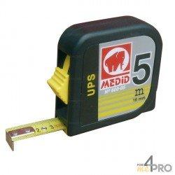 Mètre boitier ABS carré 3 m pour gaucher