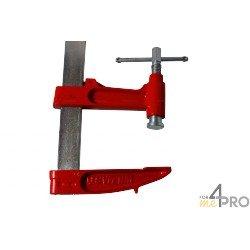 Serre joint à pompe 1,50 m - saillie 140 mm