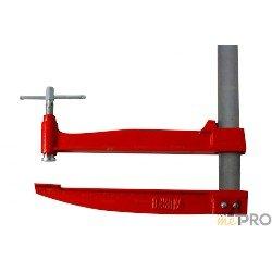 Serre joint à pompe 1 m - saillie 350 mm