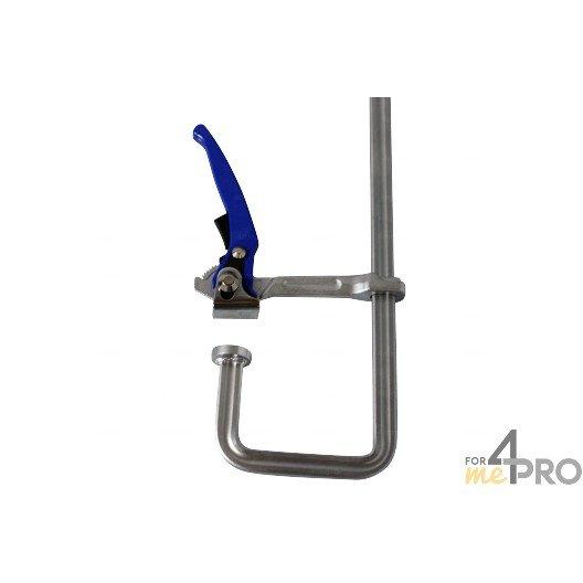 Serre joint forg col de cygne avec rotule interchangeable for Col de cygne chantier