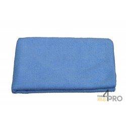 """Microfibre """"Tricot Luxe"""" 40 x 40 cm bleue"""