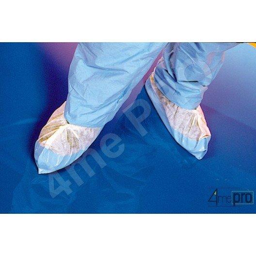 Couvre-chaussure avec semelle 25 cm blanc