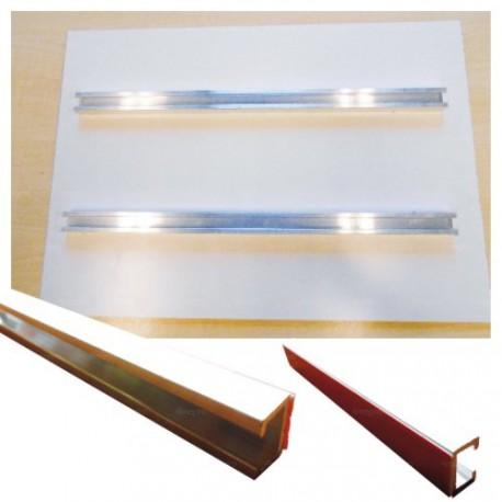 Rails de fixation pour panneaux de 30 x 42 cm