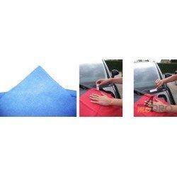 Sachet de 5 Micro-Fibres Tricot Laser Auto 40 x 40 cm bleues