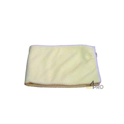 "Micro-fibre ""Tricot Class"" 40 x 40 cm jaune"