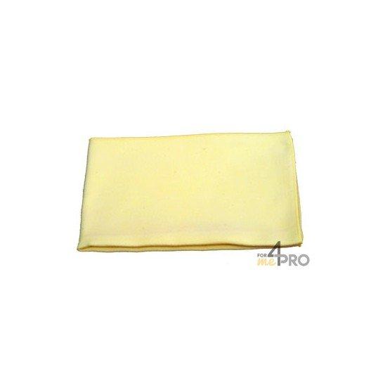 "Micro-fibre ""Tissé Luxe"" 40 x 40 cm jaune"