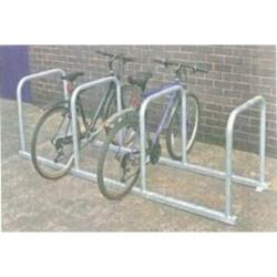 Support vélos en ligne 5 arceaux - 10 vélos