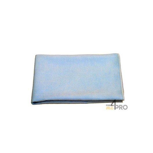"""Microfibre """"Tissé Luxe"""" 40 x 40 cm bleue"""