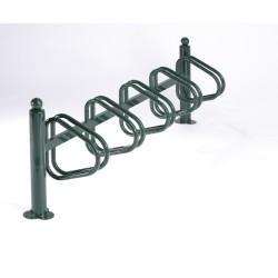 Râtelier New York galvanisé - 5 vélos