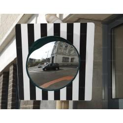 Miroir de sortie sur panneau 60 x 60 cm