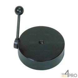 Base magnétique avec levier pour décoller la base