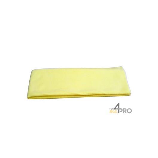 "Microfibre ""Tricot Luxe"" 80 x 40 cm jaune"