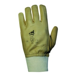 Gants de protection Dockers cuir de bovin hydrofuge - norme EN 388 3121