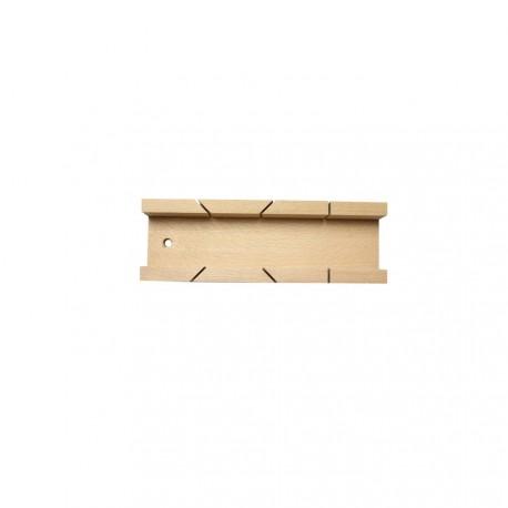 Boîte à onglet de menuisier 5,4x25x3,6 cm