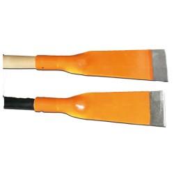 Grattoir de maçon 18 cm - Ø manche 37 mm en bois dur