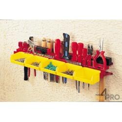 Porte outils tôle acier