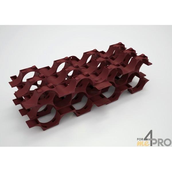 casier bouteille polypropyl ne 7 bouteilles 4mepro. Black Bedroom Furniture Sets. Home Design Ideas