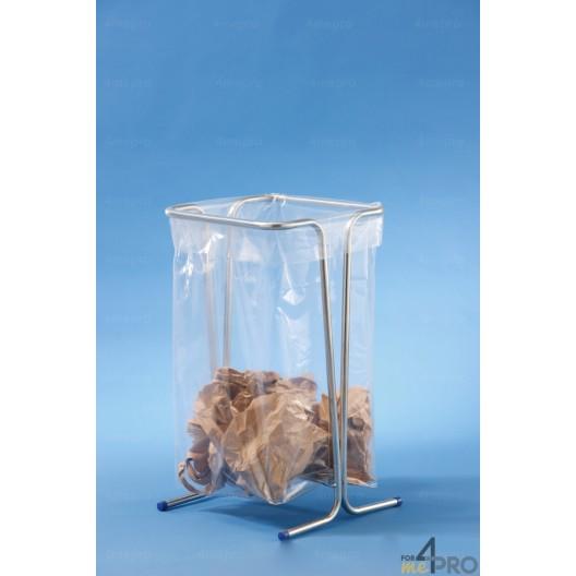 Support sacs poubelle 110 litres sur pied