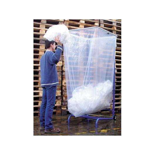 Support sac poubelle 1000 à 2500 litres