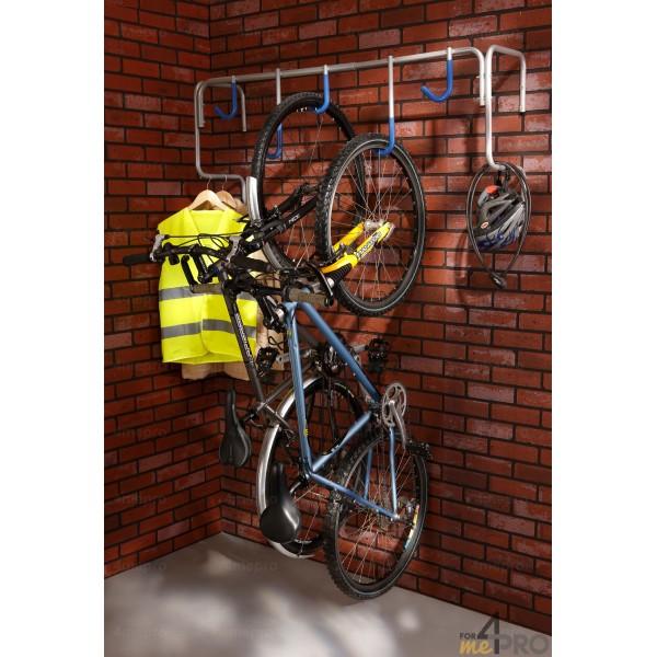 4mepro-range 5 Vélos Mural 130,5 X 34,5 X 58,5 Cm