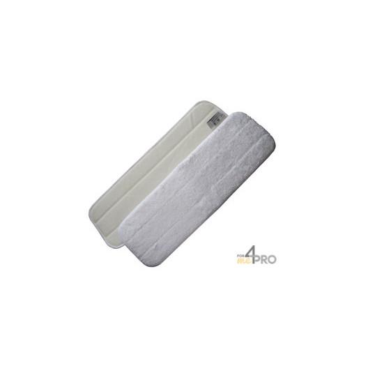 Mop Microfibre 44 cm blanc avec velcro