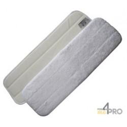 Mop Microfibre 60cm blanc avec velcro
