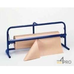 Dérouleur papier horizontal - Largeur de 70 à 80 cm