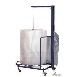 Dérouleur vertical de papier bulle - Hauteur 160 cm