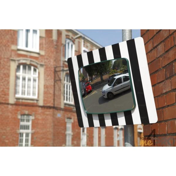 miroir de sortie sur panneau 60 x 45 cm 4mepro. Black Bedroom Furniture Sets. Home Design Ideas