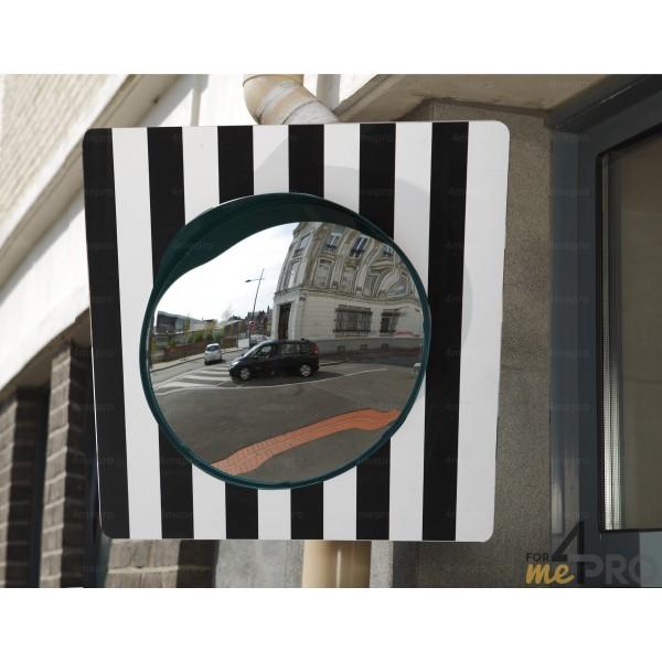 Miroir de sortie sur panneau 60 x 60 cm 4mepro for Miroir rond 60 cm