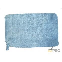 Gant poussière Elégant Microfibre bleu