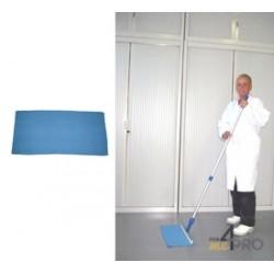 Mop en tissé serré alvéolé 55 x 27 cm bleu pour Rakleto