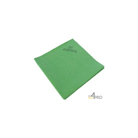 Micro-Fibre-Non-Tissé 40 x 38 cm vert (5 pièces)