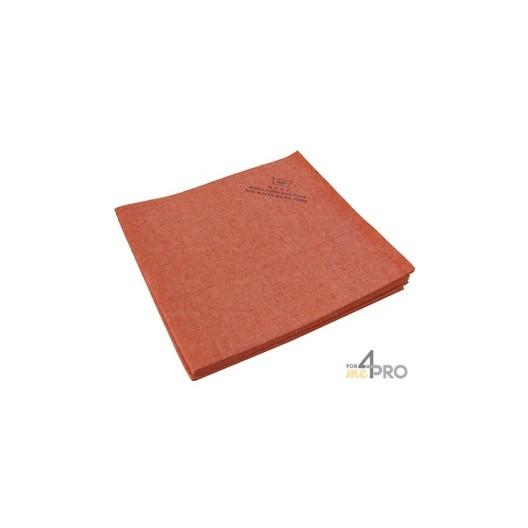 Micro-Fibre-Non-Tissé 40 x 38 cm rouge (5 pièces)