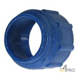 Adaptateur pompe vide fût bleu foncé