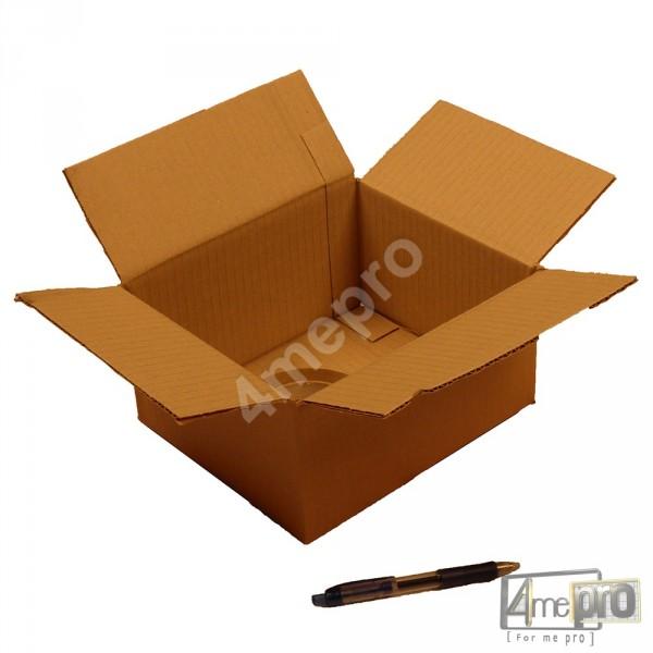 bo te en carton simple cannelure 23x19x12 cm. Black Bedroom Furniture Sets. Home Design Ideas