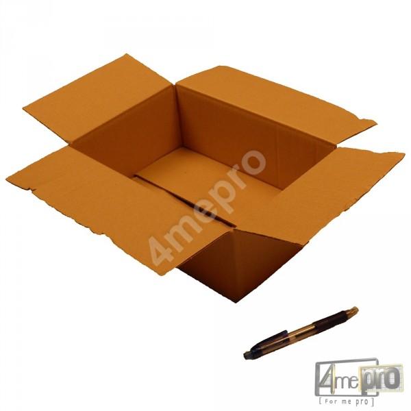 bo te en carton simple cannelure 30x20x10 cm. Black Bedroom Furniture Sets. Home Design Ideas