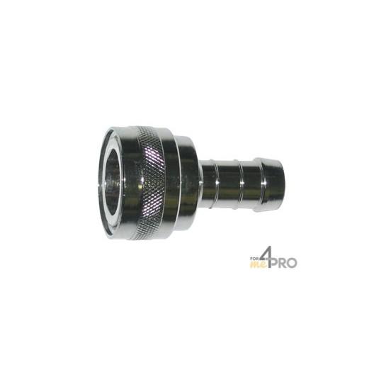 Coupleur 1/2'' avec embout tuyau diam.13 mm