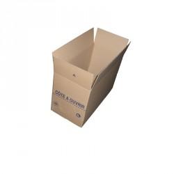 """Caisse Carton """"VAD"""" 59 x 29 x 38,5 cm"""