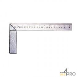 Equerre de menuisier standard 25x12 cm