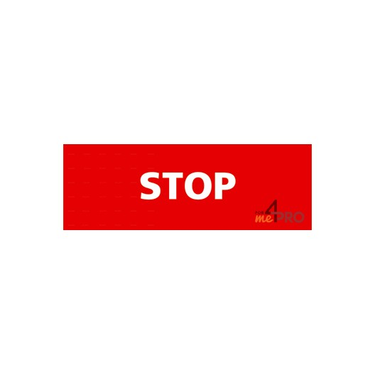 Panneau stop rectangulaire 4mepro - Combien de panneau stop a paris ...