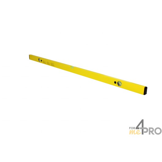 Niveau profil alu jaune 1,20 m