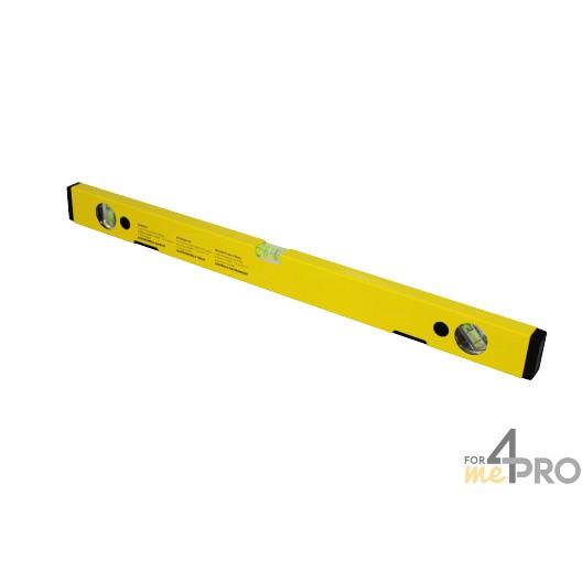 Niveau profil alu jaune aimanté 60 cm