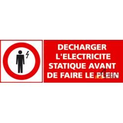 Panneau d 39 obligation pour professionnels 4mepro - Comment enlever l electricite statique ...