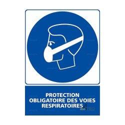 14a370cd64e80 Panneau vertical Protection obligatoire des voies respiratoires