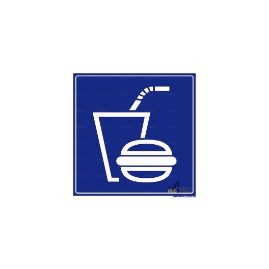 Panneau carr restaurant rapide 4mepro for Materiel resto rapide