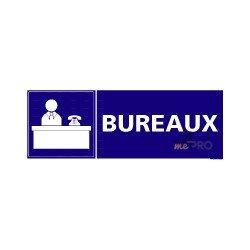 Panneau rectangulaire Bureaux 2