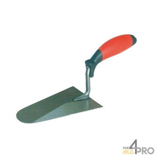 Truelle italienne professionnelle - manche bimatière 31 cm