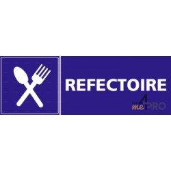 Panneau rectangulaire Réfectoire