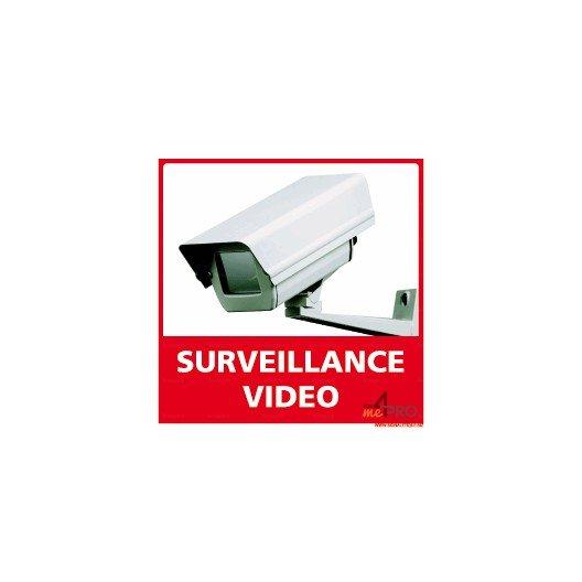 panneau de signalisation carr surveillance vid o 2 4mepro. Black Bedroom Furniture Sets. Home Design Ideas